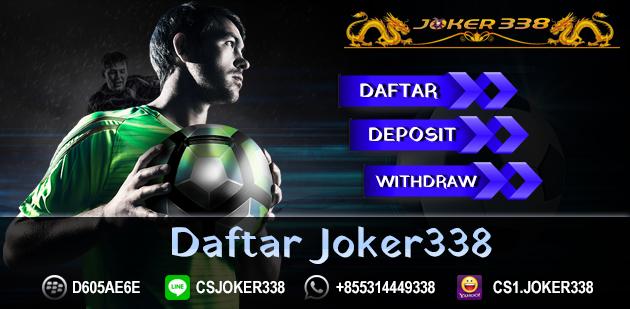 Daftar Joker338